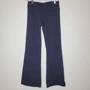 Lululemon black flare leg high waist legging